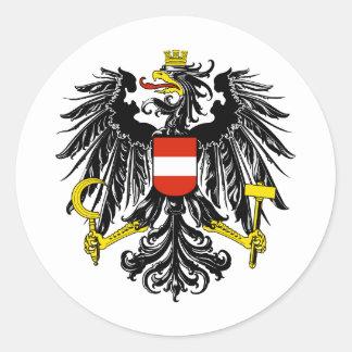 オーストリアの ラウンドシール