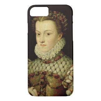 オーストリアの(1554-92年の)女王oのエリザベスのポートレート iPhone 8/7ケース