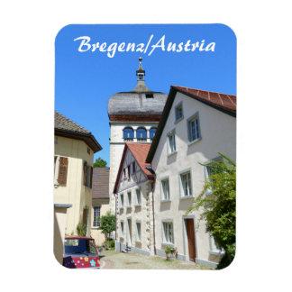 オーストリアのBregenzの古い町の記念品 マグネット