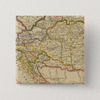オーストリア帝国7 5.1CM 正方形バッジ