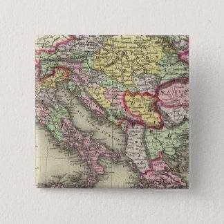 オーストリア帝国、イタリア、ヨーロッパ、ギリシャのトルコ 5.1CM 正方形バッジ