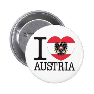 オーストリア愛v2 5.7cm 丸型バッジ