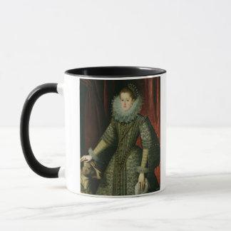 オーストリア1609年のマルガリータ女王(キャンバスの油) マグカップ