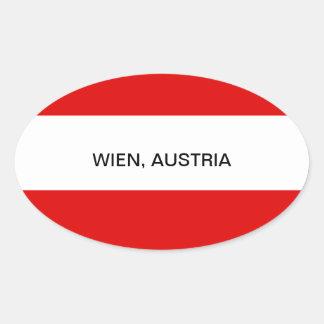 オーストリア: オーストリアの旗--Wien 楕円形シール
