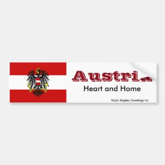 オーストリア バンパーステッカー