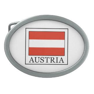 オーストリア 卵形バックル