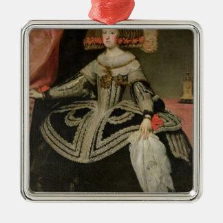 オーストリア、c. 1652年のマリアアナ女王 メタルオーナメント