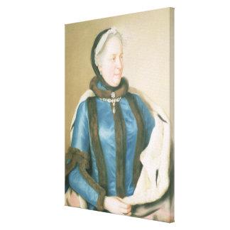 オーストリア、c.1770の皇后マリアTheresa キャンバスプリント