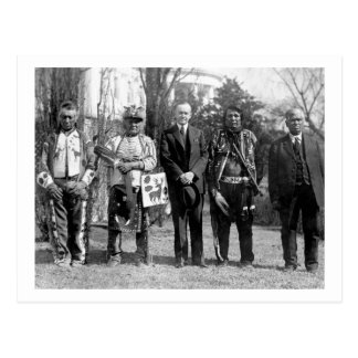 オーセージIndians 1925年 ポストカード