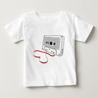オーディオ・カセットテープ ベビーTシャツ