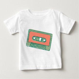 オーディオ・テープのスケッチ ベビーTシャツ