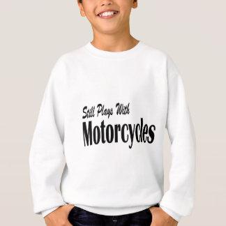 オートバイが付いているまだ演劇 スウェットシャツ