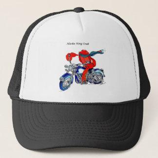 オートバイのアラスカのタラバガニ キャップ