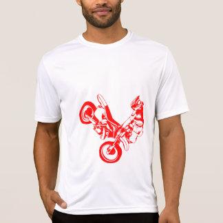 オートバイのシルエット Tシャツ
