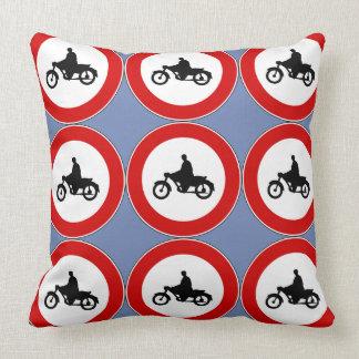 オートバイのシンボルや象徴 クッション