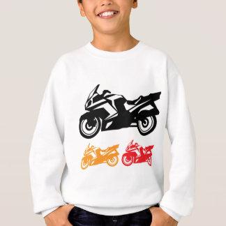オートバイのベクトル スウェットシャツ