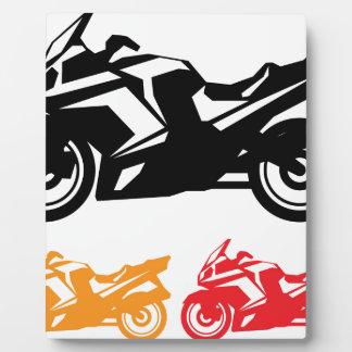 オートバイのベクトル フォトプラーク