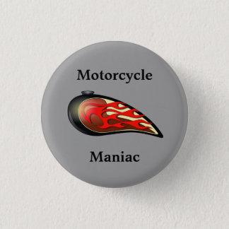 オートバイの狂気のガスタンク 缶バッジ