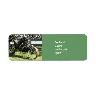 オートバイの芸術のAveryのラベル ラベル