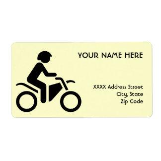 オートバイの記号 ラベル