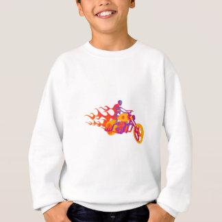 オートバイの骨組 スウェットシャツ
