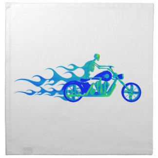 オートバイの骨組 ナプキンクロス