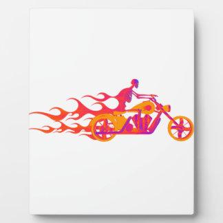 オートバイの骨組 フォトプラーク