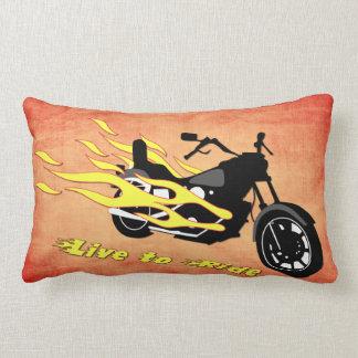 -オートバイのLumbarの枕に乗るために住んで下さい ランバークッション