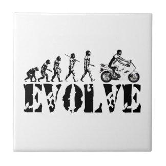 オートバイのSportbikeモーター進化は芸術を遊ばします タイル