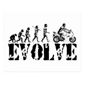 オートバイのSportbikeモーター進化は芸術を遊ばします ポストカード