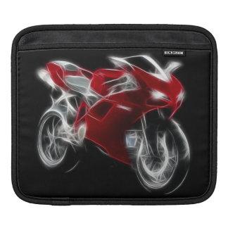 オートバイを競争させるスポーツのバイク iPadスリーブ