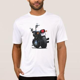 オートバイメンズ能動態のティー Tシャツ