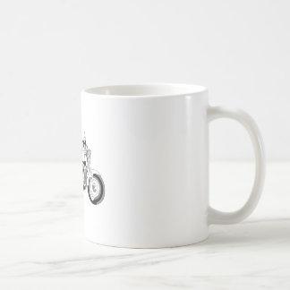 オートバイ コーヒーマグカップ