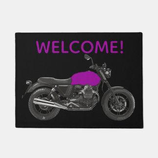 オートバイ ドアマット