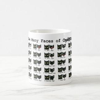 オートムギマグの多くの顔 コーヒーマグカップ