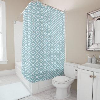 オーナメントの青い魚-シャワー・カーテン シャワーカーテン
