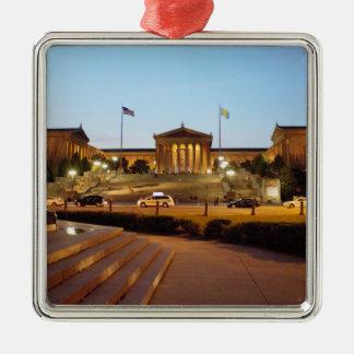 オーナメントフィラデルヒィアの美術館 メタルオーナメント