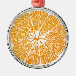 オーナメント-オレンジ嬉しい… メタルオーナメント