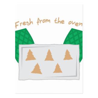オーブンから新しい ポストカード