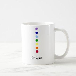 オープンのチャクラのマグがあって下さい コーヒーマグカップ