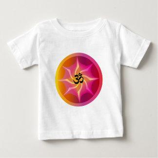 オームのサイケデリックな螺線形 ベビーTシャツ
