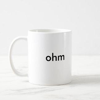 オームのマグ コーヒーマグカップ