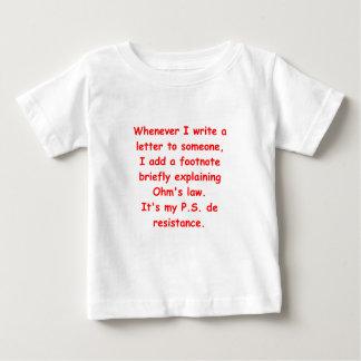 オームの法律 ベビーTシャツ