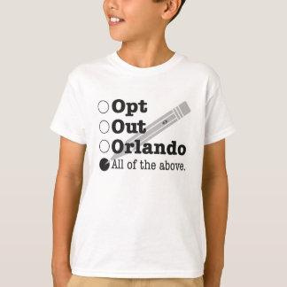 オーランドは選択します Tシャツ