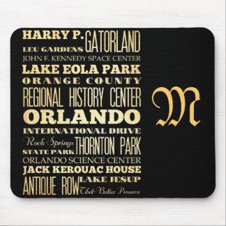 オーランド、フロリダの魅力そして有名な場所 マウスパッド