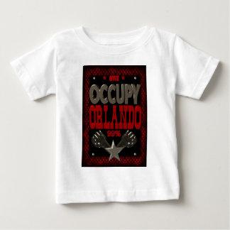 オーランドOWSの抗議99の強いポスターを占めて下さい ベビーTシャツ