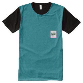 オールオーバープリントT シャツ