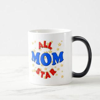 オールスターのお母さんの母の日のギフト モーフィングマグカップ