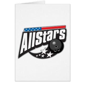 オールスターのボーリングをすること カード