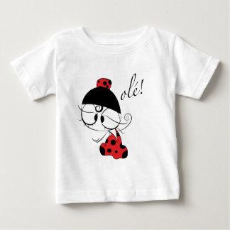 オーレフラメンコのダンサー! ベビーTシャツ